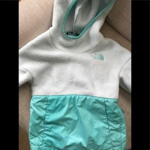 North Face Girls Fleece Pullover Size XXS (5)
